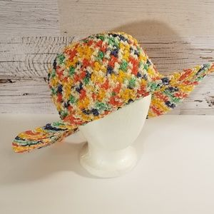 Colorful sun hat